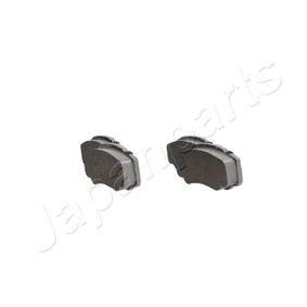 425468 für FIAT, PEUGEOT, CITROЁN, Bremsbelagsatz, Scheibenbremse JAPANPARTS (PP-0010AF) Online-Shop
