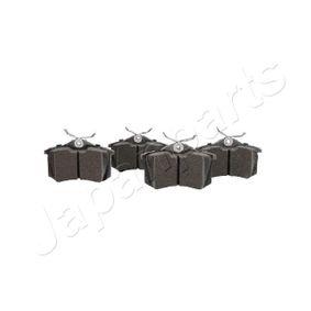 JAPANPARTS Bremsbelagsatz, Scheibenbremse 3B0698451 für VW, AUDI, SKODA, SEAT, HONDA bestellen