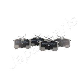 Bromsbeläggssats, skivbroms JAPANPARTS Art.No - PP-0018AF OEM: 440603530R för VW, AUDI, FORD, RENAULT, PEUGEOT köp