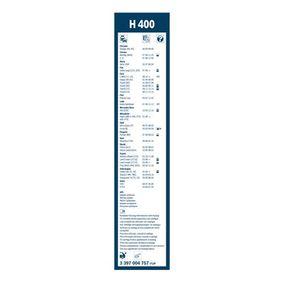 Escobillas de limpiaparabrisas BOSCH (3 397 004 757) para SUZUKI SAMURAI precios