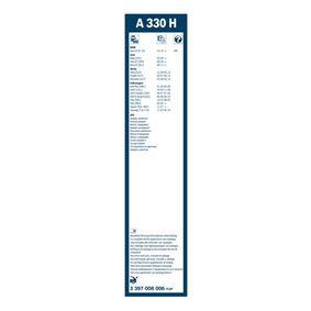 3 397 008 006 Задна чистачка BOSCH за VW GOLF 1.9 TDI 105 K.C. на ниска цена