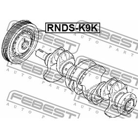 Riemenscheibe Kurbelwelle RNDS-K9K FEBEST