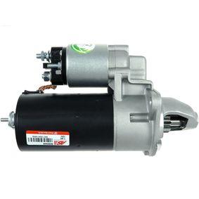 MAPCO Motor de arranque Pot  arrancador: 1,4kW, Tensión: 12V, Núm  dientes:  9