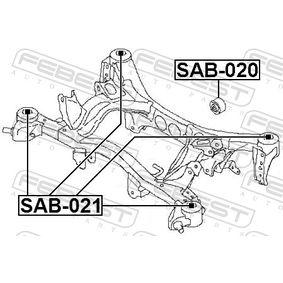 Hinterachslager SAB-020 FEBEST