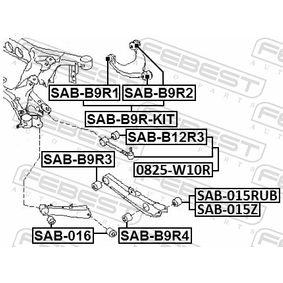 Querlenker Gummilager SAB-B9R-KIT FEBEST