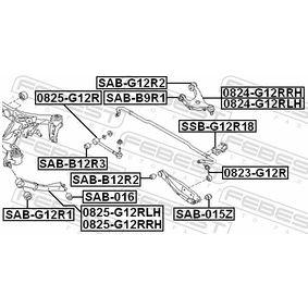Querlenker Gummilager SAB-G12R1 FEBEST
