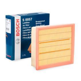 Luftfilter BOSCH Art.No - F 026 400 057 OEM: 95513087 für OPEL, DAEWOO, BEDFORD, GMC, VAUXHALL kaufen