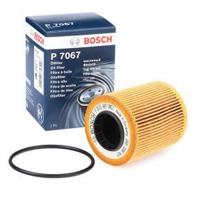 BOSCH Filtro olio F 026 407 067 per FIAT GRANDE PUNTO 1.3 D Multijet 75 CV comprare