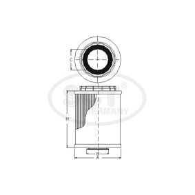 A2711840525 für MERCEDES-BENZ, Ölfilter SCT Germany (SH 4030 P) Online-Shop
