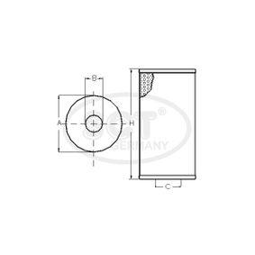 SCT Germany SH 425/1 P Ölfilter OEM - 90544191 GMC, OPEL, SKODA, VAUXHALL, CHEVROLET, DAEWOO, GENERAL MOTORS günstig