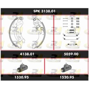 ROADHOUSE FIAT PANDA Drum brake lining kit (SPK 3138.01)
