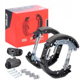 PANDA (169) REMSA Brake shoes and drums SPK 3158.00