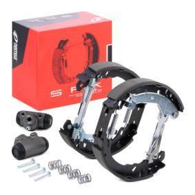 PANDA (169) REMSA Brake set, drum brakes SPK 3158.00