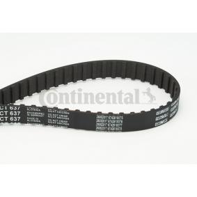 AUDI 100 (44, 44Q, C3) CONTITECH Zahnriemen CT637 bestellen