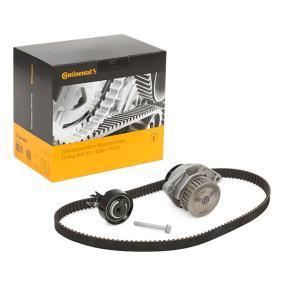 CONTITECH Pompa Acqua + Kit Cinghia Distribuzione CT846WP2 per VW POLO 1.4 60 CV comprare