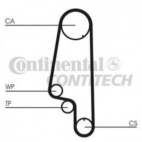 CT846WP3 Wasserpumpe + Zahnriemensatz OEM - CT846K1 CONTITECH günstig