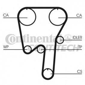 CONTITECH CT979K2 Zahnriemensatz (CT979K2) Online-Shop