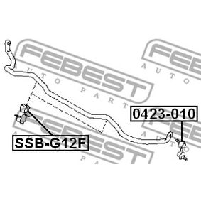 Stabilisatorlager SSB-G12F FEBEST