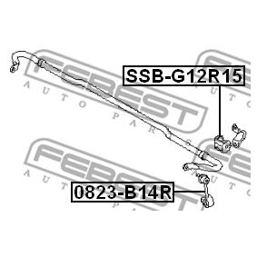 Stabilisatorlager SSB-G12R15 FEBEST