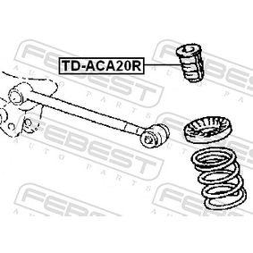 Shock absorber boots TD-ACA20R FEBEST