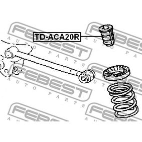 Shock absorber dust cover & Suspension bump stops TD-ACA20R FEBEST