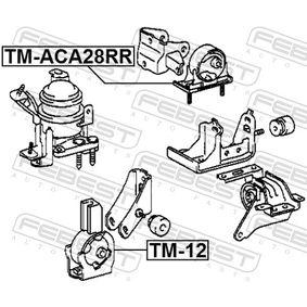 Engine mount TM-ACA28RR FEBEST