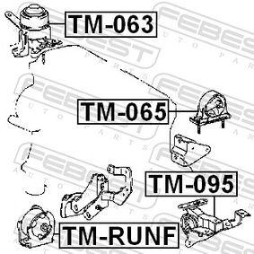 Engine mount TM-RUNF FEBEST