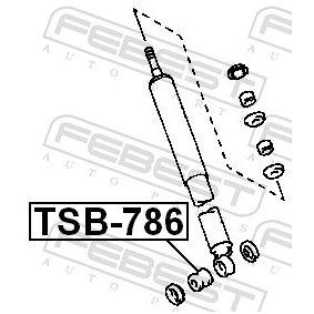 Shock absorber boots TSB-786 FEBEST