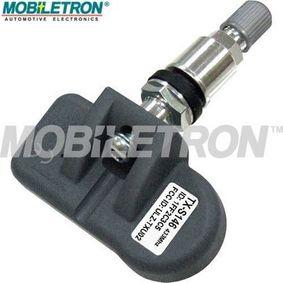 MOBILETRON Hjulsensor, dæktrykkontrolsystem TX-S146 af original kvalitet