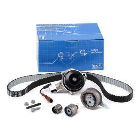 Set pompa apa + curea dintata SKF Art.No - VKMC 01278 OEM: 04L121011P pentru VW, AUDI, SKODA, SEAT cumpără