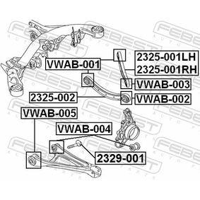 FEBEST Lagerung, Lenker 7L0505397 für VW, AUDI, SKODA, SEAT, PORSCHE bestellen