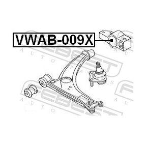 FEBEST Lagerung, Lenker 3C0199231B für VW, AUDI, SKODA, SEAT, LAND ROVER bestellen