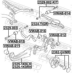 FEBEST Lagerung, Lenker 1K0505224K für VW, AUDI, SKODA, SEAT bestellen