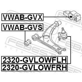 FEBEST Lagerung, Lenker 1K0199232G für VW, AUDI, SKODA, SEAT, PORSCHE bestellen