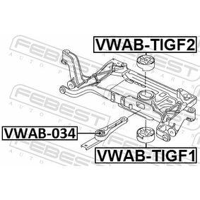 Окачване, корпус на оста VWAB-TIGF1 FEBEST