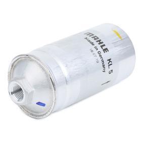 MAHLE ORIGINAL Filtro combustibile (KL 5)