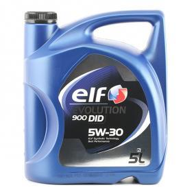 DODGE CALIBER Aceite motor 2194881 from ELF Top calidad