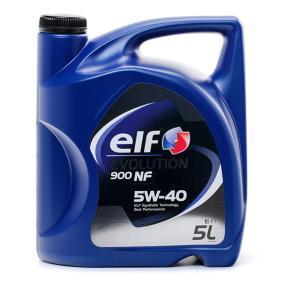 SAE-5W-40 Aceite motor del ELF 2198877 recambios de calidad