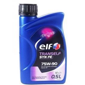 Elf Tranself Transmission Oil Full Synthetic Oil 05l 75w 90