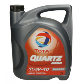 SAE-15W-40 Двигателно масло от TOTAL 2148644 оригинално качество