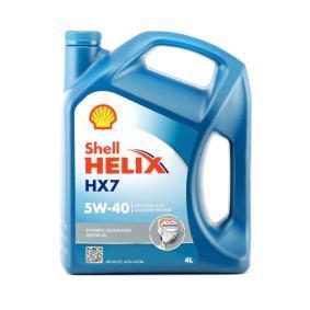 Semi synthetische motorolie 550046284 van SHELL van originele kwaliteit