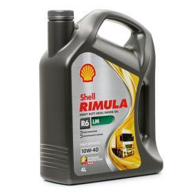 Olio motore per auto ACEA E7 SHELL 550044889 comprare
