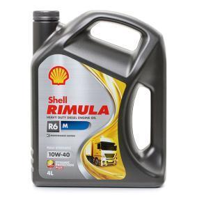 ISUZU D-MAX Motorenöl 550044869 von SHELL Original Qualität