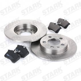 STARK SKBK-1090352 Kit frenos, freno de disco OEM - 1JD698451A SKODA, VW, VAG, MINTEX, SATURN, VW (FAW), VW (SVW), SKODA (SVW) a buen precio