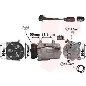 Klimakompressor (0300K003) hertseller VAN WEZEL für VW Golf IV Cabrio (1E) ab Baujahr 06.1998, 100 PS Online-Shop