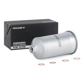 DEDRA (835) RIDEX Filtro combustibile 9F0133
