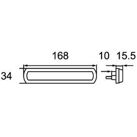 2PS 013 302-321 Begrenzungsleuchte von HELLA Qualitäts Ersatzteile