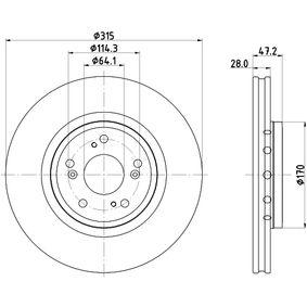 HELLA Filtro de aceite 8DD 355 125-321