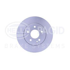 Bremsscheibe HELLA Art.No - 8DD 355 125-541 OEM: A210421241264 für MERCEDES-BENZ kaufen