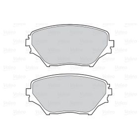 Bremsbelagsatz, Scheibenbremse VALEO Art.No - 302033 kaufen
